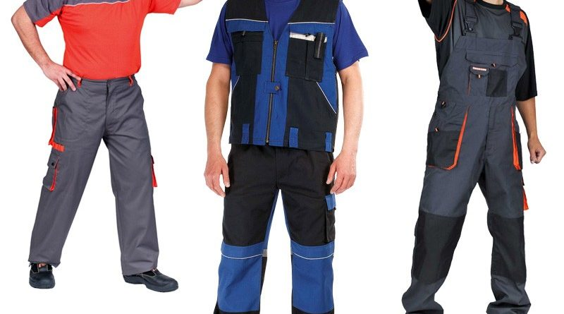 Виды и особенности рабочей одежды